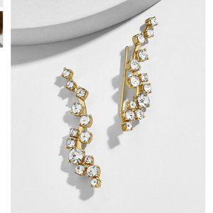 Baublebar Farah Ear Crawlers Sparkle Earrings
